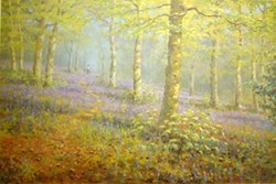 Woodland Walk by James Preston - Limited Edition on Paper sized 19x13 inches. Available from Whitewall Galleries